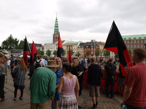 Our venue for Baltic Warriors Copenhagen was the square in front of the parliament building, Christiansborg. Photo: Juhana Pettersson