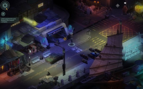 Shadowrun Returns: Hong Kong is an old-school isometric game.