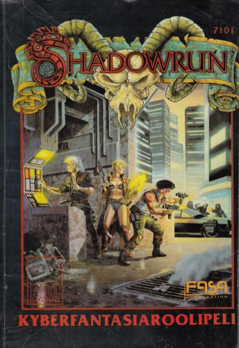 Shadowrun julkaisiin suomeksi 90-luvun alun roolipelijulkaisubuumin aikana.