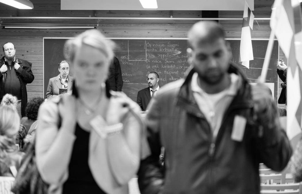 Photo by Tuomas Puikkonen from the last moments of Halat hisar 2013